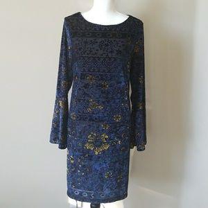 Beige by Eci Midi Dress Size L